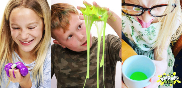 Combine slime, the obsession with bubble wrap popping and the […]
