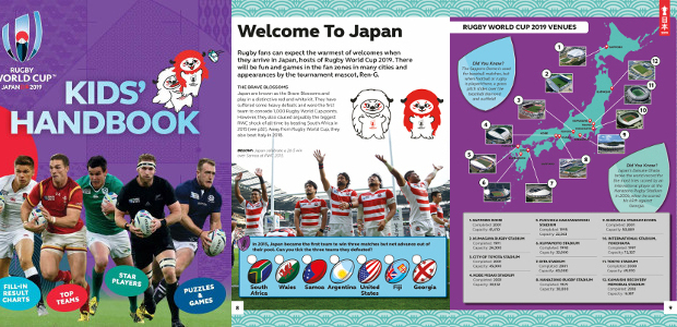 RUGBY WORLD CUP 2019 TM KIDS' HANDBOOKBy Clive Gifford www.carltonkids.co.uk […]