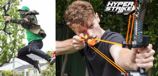 Epic Summer Backyard Bow & Arrow Battles with the HyperStrike […]