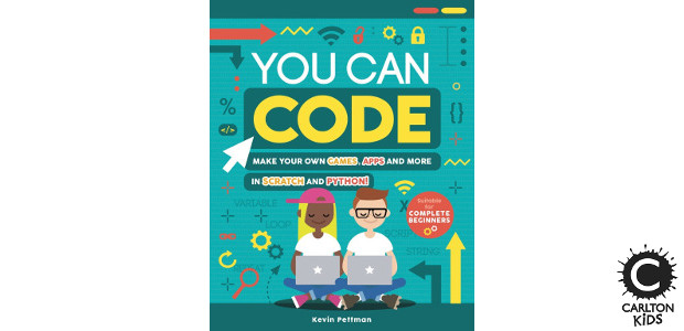 BOOK! Available Now ! YOU CAN CODE Author Kevin Pettman […]