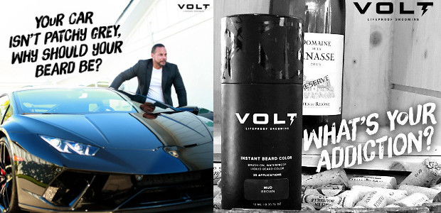 VOLT. Face Anything, lifeproof INSTANT BEARD COLOUR! www.voltgrooming.com FACEBOOK | […]