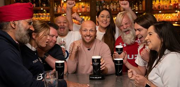 THINK YOU'RE A TRUE BELIEVER? GUINNESS PUTS RUGBY FANS TO […]