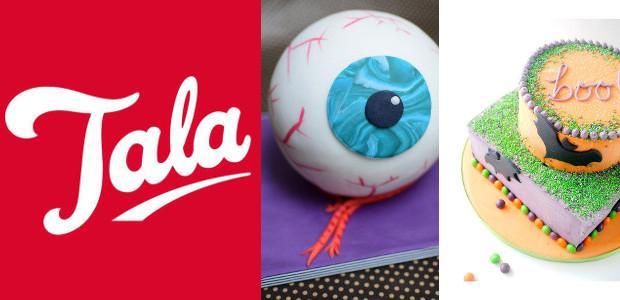 Tala Recipes: Eyeball Cake . Pumpkin Cake . Halloween Ginger […]