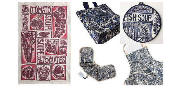 Simple Soups & Regional Recipes… Illustrated Homewares by Kate Guy […]