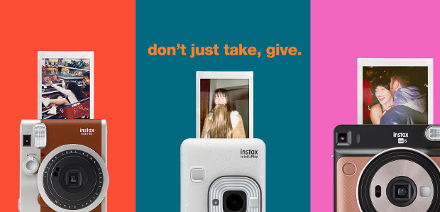 GIVE THE GIFT OF MEMORIES THIS CHRISTMAS WITH INSTAX www.instax.co.uk […]
