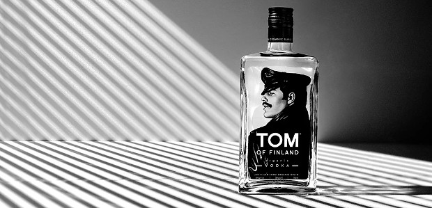 """Tom of Finland Organic Vodka: """"Make a statement without saying […]"""