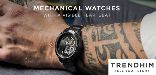 Trendhim . Dante Watches . Mechanical watches that move when […]