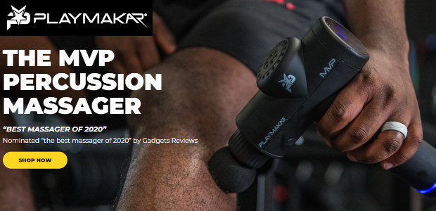 Sports Recovery Like the Pro's with MVP Massager PlayMakar.com Used […]